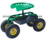 Carrello dello strumento di giardino delle rotelle della sede quattro di rotolamento del giardino del fornitore della Cina