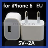 EU2a USB Home Charger Adapter für iPhone 6 Travel Wall Charger