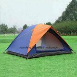 2 Farben-doppelte Schicht-kampierendes Zelt