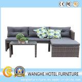 Jogo de vime ajustado do sofá da combinação do sofá da mobília do projeto do hotel
