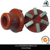 "2 "" diamante Arrow Metal Floor Grinding Plugs para Concrete"