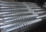 Гальванизированный стальной солнечный земной винт для солнечного завода фермы