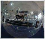 Прозрачный шарик хомяка PVC/TPU людской с мягкими сплетенными ручками ленты