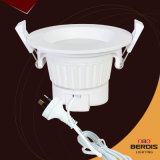 7W Dimmable Ce&RoHS LED approvato Downlight
