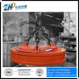 Electroimán de elevación circular para la elevación de acero del desecho