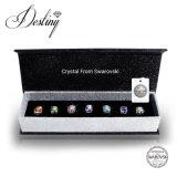 Cristal de la joyería del destino de Swarovski 7 pendientes de los días fijados