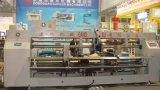De dubbel-hoofd Halfautomatische Nietmachine van de Doos van het Karton voor het Maken van de Doos van het Karton