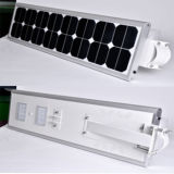Luz solar integrada al aire libre del jardín de la calle de la fuente IP65 60W 70W 80W del fabricante para el exterior
