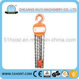 Type de HS-C - bloc à chaînes de main de 2 tonnes