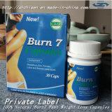 환약을 체중을 줄이는 파란 백색은 캡슐 플러스 발전 체중 감소 Burn7 Lida를 체중을 줄인다