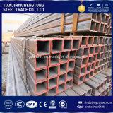 Dünnes quadratisches Stahlgefäß der Wand-80X80 mit ASTM Standard