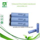 Zelle der Li-Ion18650 Batterie-2200mAh mit Marke Samsung-10A