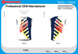 Honorapparelの新しい到着の例外的な品質の通気性の中国の製造業者のTシャツ
