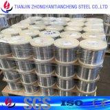 fil de l'acier inoxydable 301 304 316L dans la surface lumineuse