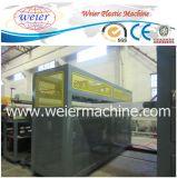 Hoja hueco plástica de la venta de los PP de la PC caliente del PE que hace la máquina (sj120/33)