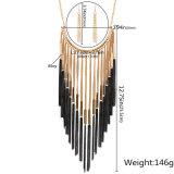 Collana della nappa della lega, insieme dei monili dell'orecchino