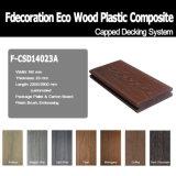 Co-Extrusion Decking de madera compuesto Panel de la cerca de WPC