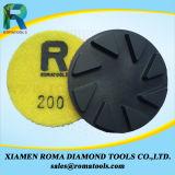 Almofadas de polonês 3000# do assoalho do diamante de Romatools
