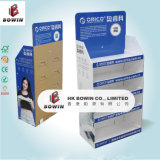 Support de comptoir en carton de haute qualité 2017 avec en-tête, 4c Printing Carton ondulé