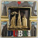 Cendrier en métal de bâtiment de Dubaï