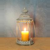 Linterna de la vela del metal del estilo de Marruecos para la decoración casera