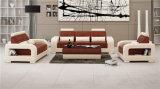 ベストセラーの現代商業革ソファーは1+2+3をセットした(HC5080)