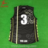 Uniforme inteiramente Sublimated do basquetebol da impressão de Healong Cago