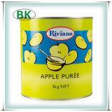 L'alimento fresco inscatolato delle mele scherza l'alimento