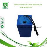 bateria de íon de lítio de 24V 13ah para o motor elétrico da bicicleta 250W