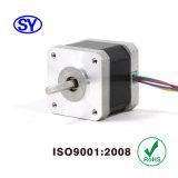 1.8deg motor eléctrico de pasos de la impresora 3D de la nema 17