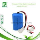 18650 7.4V 2200mAh Li Ionenbatterie-Satz für LED-Lichter