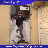 Коробка 2016 ткани Hotsale внушительная рекламируя светлая с алюминиевой рамкой