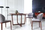Tableau de dîner à la maison de restaurant en bois solide de grand dos de meubles
