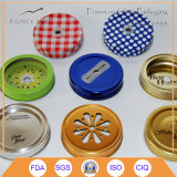 70mm Metal Cap per Mason Jar con Color Printing