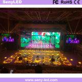 풀 컬러 임대 응용을%s 실내 옥외 단말 표시 P4.8 LED 스크린