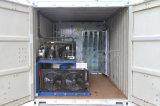 Máquina de gelo desobstruída Containerized comercial industrial do bloco de 2 toneladas/dia