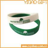 Qualitäts-Glühen im dunklen SilikonWristband für fördernde Geschenke (YB-w-002)