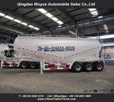 Aanhangwagen van de Tank van het Cement van de triAs de Bulk met As Fuwa en Dieselmotor