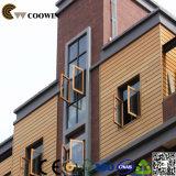 Apartadero al aire libre de la decoración WPC de la pared