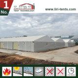 """tente d'entrepôt de 20X50m avec le panneau """"sandwich"""" pour l'entrepôt et la mémoire"""