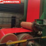 上塗り25umは中国の工場からの電流を通された鋼鉄コイルPPGIをPrepainted