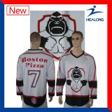 Jersey de hockey sur glace d'impression de Digitals