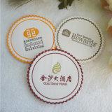 Cortesias Coaster do hotel & fabricante do hotel da tampa 1 do copo