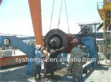 Tubo d'acciaio del calcestruzzo di rinforzo che fa la grondaia di Conrete della macchina convogliare prezzo di fabbrica della muffa