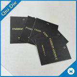 عادة طباعة هبة [بروموأيشنل] تصميم [دبوسّد] [غلد فويل] تعليق بطاقة لأنّ لباس