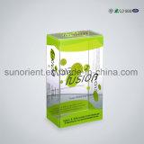 Caixa de plástico PVC transparente para embalagem de caixa de telefone celular