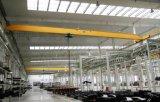 Tipo grúa de arriba de Lda de la sola viga de 5t el 15.5m con la maquinaria de elevación del alzamiento eléctrico para el taller