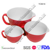 4の陶磁器のWholesale Measuring Cups Set