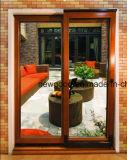 Porta de vidro, porta de vidro de metal, porta de vidro de madeira, porta de vidro de alumínio