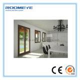 Guichet et porte en aluminium de tissu pour rideaux de Roomeye avec le double vitrage